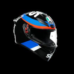 Casco K1 VR46 SKY RACING TEAM Nero Rosso Blu - AGV