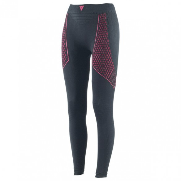 Pantalone D-CORE THERMO PANT LADY Lungo Intimo Nero Rosa - DAINESE