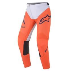 Pantalone RACER BRAAP Arancio Grigio - ALPINESTARS