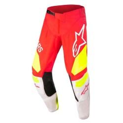 Pantalone YOUTH RACER FACTORY Rosso Giallo - ALPINESTARS
