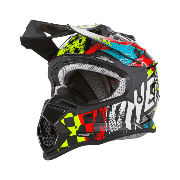 Casco 2SRS YOUTH WILD Multicolor - ONEAL