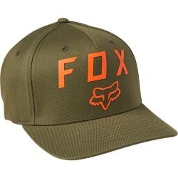 Cappellino NUMBER 2 FLEXFIT 2.0 Verde Arancio - FOX