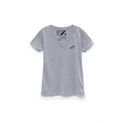 T-Shirt WOMENS AGELESS VNECK Grigio - ALPINESTARS