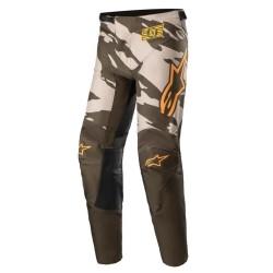 Pantalone 2022 RACER TACTICAL Sabbia Verde Arancio - ALPINESTARS
