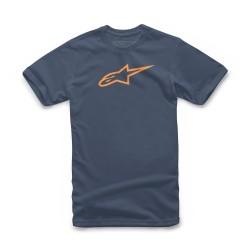 T-Shirt AGELESS CLASSIC Blu Arancio - ALPINESTARS