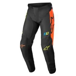 Pantalone RACER COMPASS Nero Giallo Arancio - ALPINESTARS