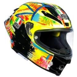 PISTA GP R Rossi Winter Test 2019 - AGV