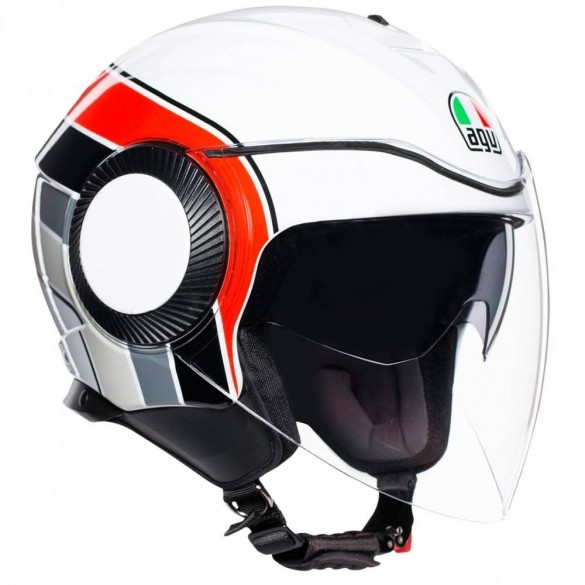 ORBYT AGV BRERA White/Grey/Red - AGV