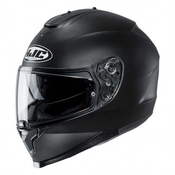 C70 MONO Flat Black - HJC