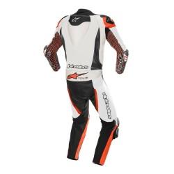 Tuta GP TECH V3 TECH-AIR Bianco Nero Rosso - ALPINESTARS