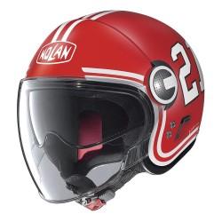 Casco N21 VISOR Quarterback Rosso - NOLAN