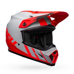 Casco MX-9 MIPS DASH Grigio Rosso - BELL