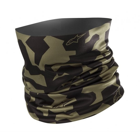 Scaldacollo CAMO NECK TUBE Intimo Nero Verde - ALPINESTARS