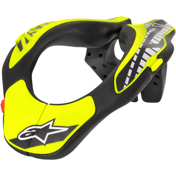 Collare YOUTH NECK SUPPORT Giallo Nero - ALPINESTARS