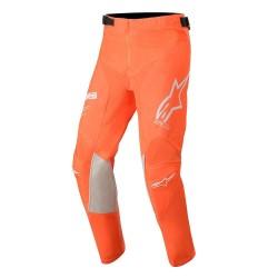Pantalone YOUTH RACER TECH Arancio Fluo Bianco Blu - ALPINESTARS