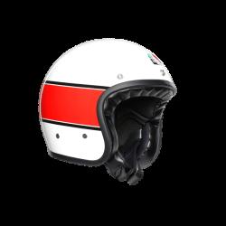 Casco X70 MINO 73 Bianco Rosso - AGV