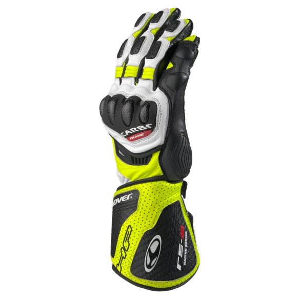 Guanto RS-8 Bianco Giallo - CLOVER