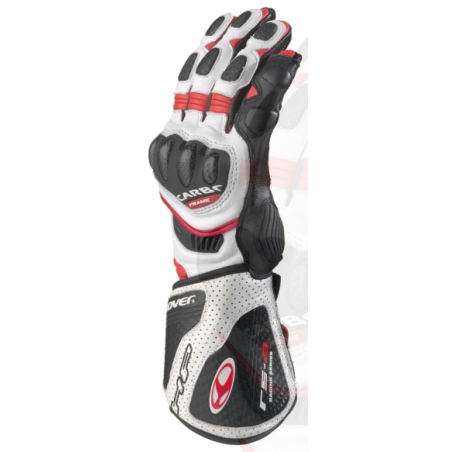 Guanto RS-8 Bianco Rosso - CLOVER