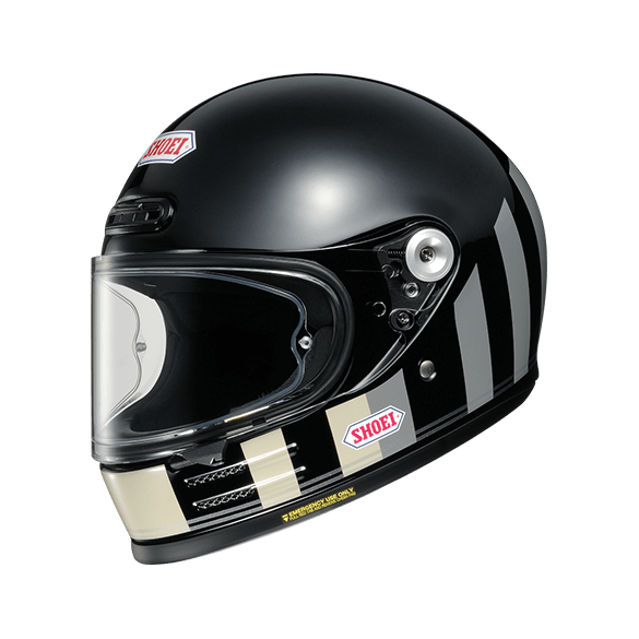 Casco GLAMSTER RESURRECTION TC-5 Nero Grigio - SHOEI