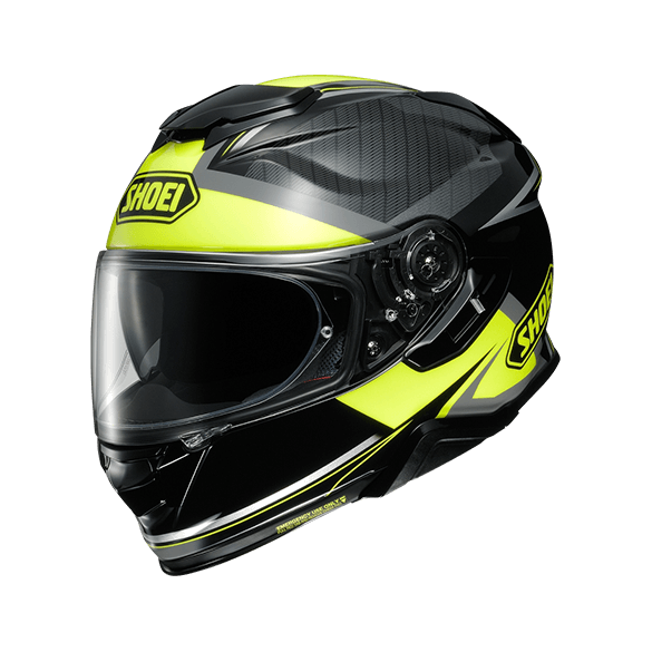 Casco GT-AIR II AFFAIR TC-3 Nero Giallo Fluo - SHOEI