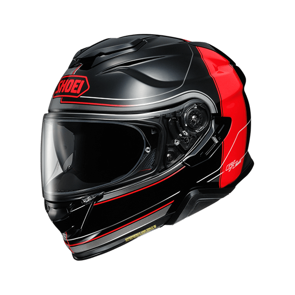 Casco GT-AIR II CROSSBAR TC-1 Nero Rosso - SHOEI