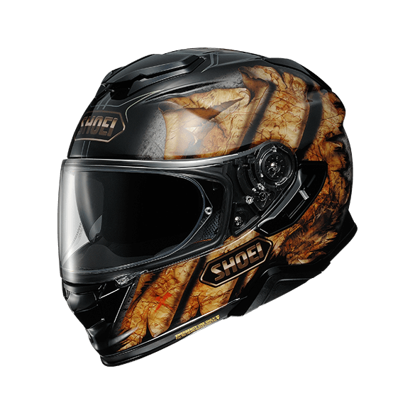 Casco GT-AIR II DEVIATION TC-9 Nero Marrone - SHOEI