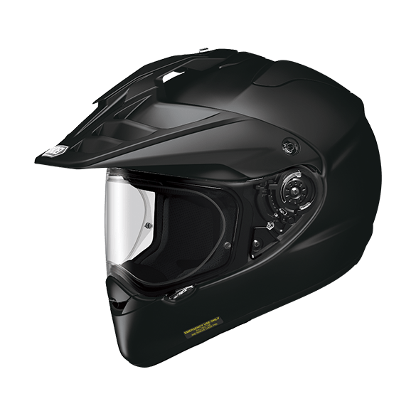 Casco HORNET ADV Nero Opaco - SHOEI