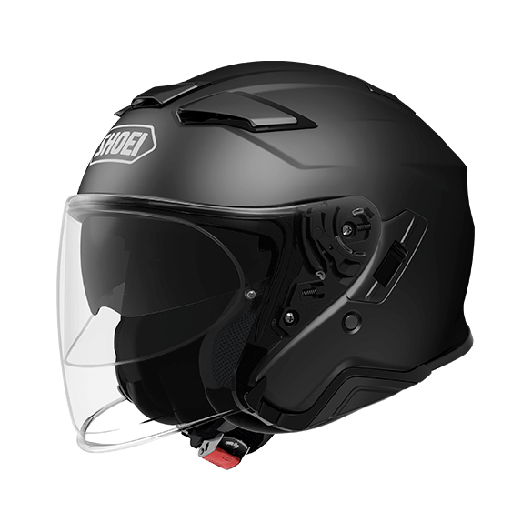 Casco J-CRUISE 2 Nero Opaco - SHOEI