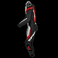 Tuta LASER PRO PERFORATED Nero Bianco Rosso - SPIDI
