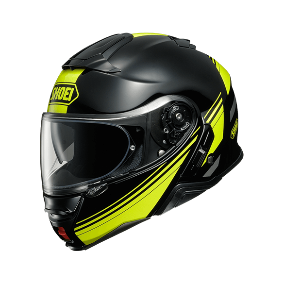Casco NEOTEC II SEPARATOR TC-3 Nero Giallo - SHOEI