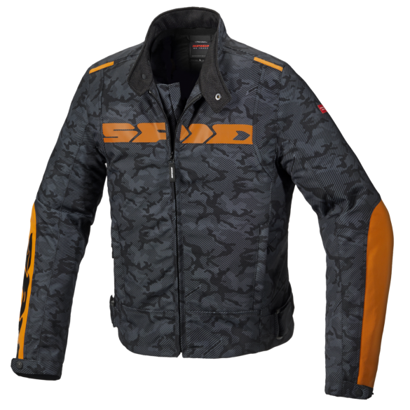 Giacca SOLAR H2OUT Nero Camouflage - SPIDI