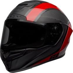 Casco RACE STAR FLEX DLX TANTRUM2 Nero Rosso - BELL