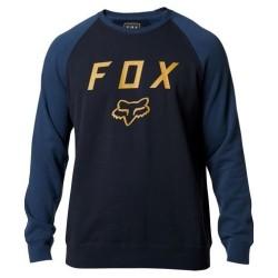 Felpa LEGACY CREW Blu Giallo - FOX