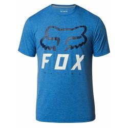 T-shirt HERITAGE Azzurro Nero - FOX