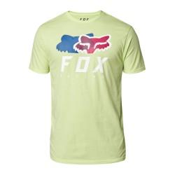 T-Shirt CHROMATIC Lime - FOX