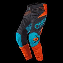 Pantalone ELEMENT FACTOR Grigio Arancio Blu - O'NEAL