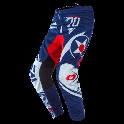 Pantalone ELEMENT WARHAWK Blu Bianco Rosso - O'NEAL