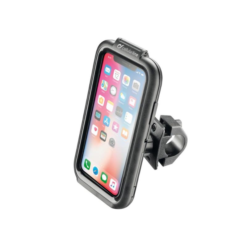 Custodia Portatelefono Per Moto INTERPHONE per IPHONE X - CELLULARLINE   Motobeat   Abbigliamento e accessori per motociclismo