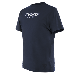 T-Shirt PADDOCK LONG Nero Bianco - DAINESE