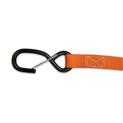 Coppia Cinghie Fermamoto 25 mm. Arancio - ACERBIS