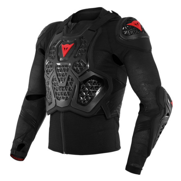 Pettorina MX2 SAFETY JACKET Nero - DAINESE