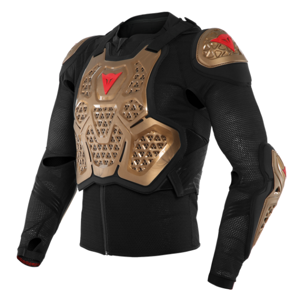 Pettorina MX2 SAFETY JACKET Nero Oro - DAINESE