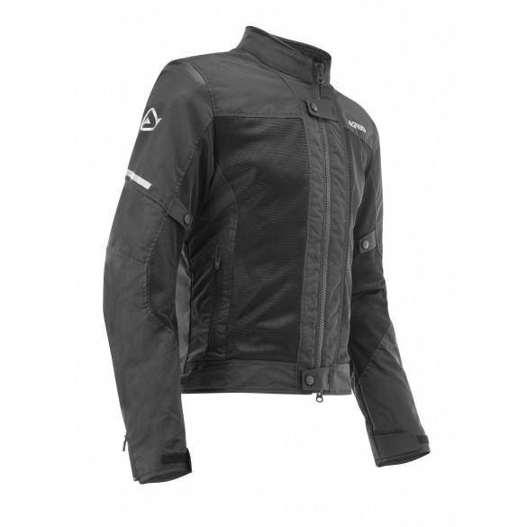 Giacca CE RAMSEY VENTED LADY Nero - ACERBIS
