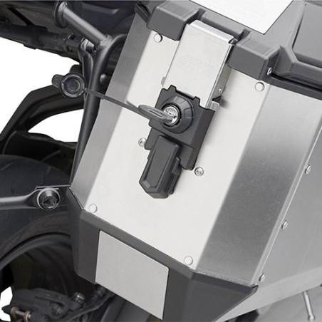 Coppia Valigie Laterali TREKKER ALASKA 36 Alluminio - GIVI