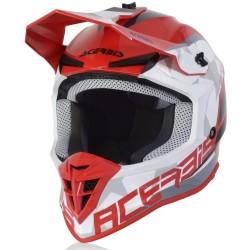 Casco LINEAR Bianco Rosso Nero - ACERBIS