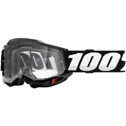 ACCURI 2 ENDURO MOTO BLACK Maschera - 100%