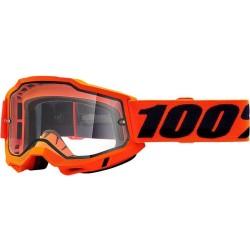 ACCURI 2 ENDURO MOTO ORANGE Maschera - 100%