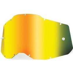 Lente Specchiata Oro per Maschera 100% Serie 2 - 100%