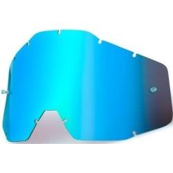 Lente Specchiata Blu per Maschera 100% Serie 1 - 100%