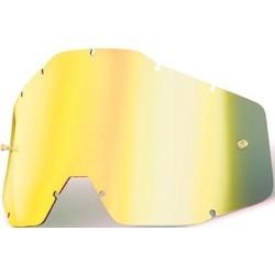 Lente Specchiata Oro per Maschera 100% Serie 1 - 100%